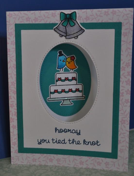 Love Bird Aperture Card