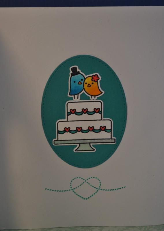 Love Bird Aperture Card - Inside