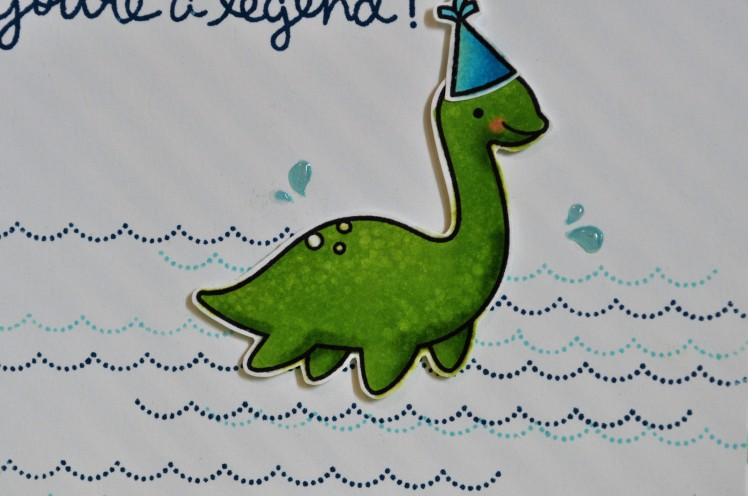Legend Nessie Birthday Close