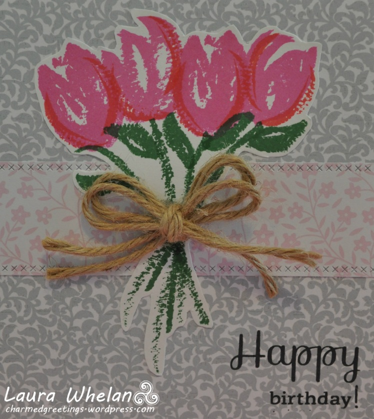 Tulips n Twine Bday Detail
